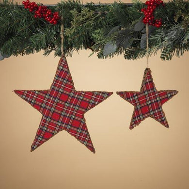 Foam Holiday Star Ornaments - Set of 2