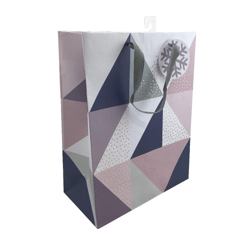 Triangle Pattern Medium Size Gift Bag