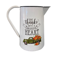 10 Inch Metal Fall Pitcher