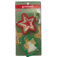 Good Cook 2 Pack Christmas Cookie Cutters Angel and Star