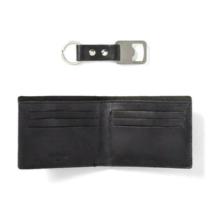 Goodfellow & Co. Black Wallet and Keychain Set