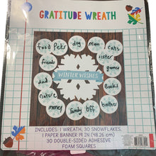 Gratitude Winter Wishes Wreath