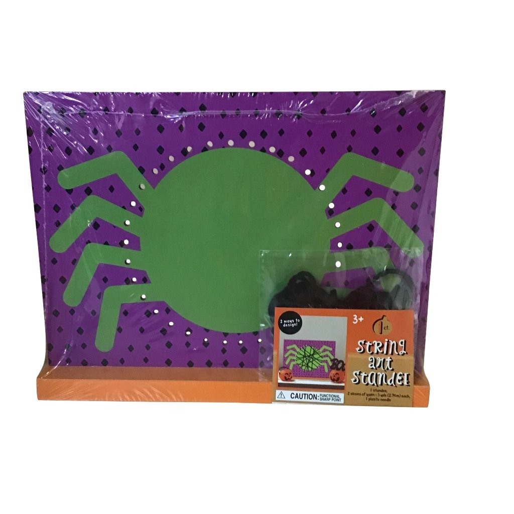 Halloween String Art Strander