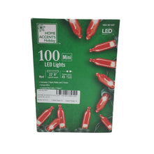 Home Accents Holiday 100 Mini Red Led Lights
