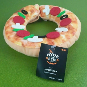 Hyde and EEK Boutique Cat Pizza Costume Collar