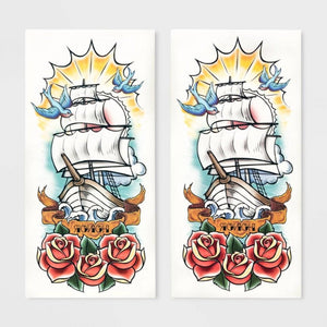Hyde and EEK! Boutique Temporary Pirate Tattoos
