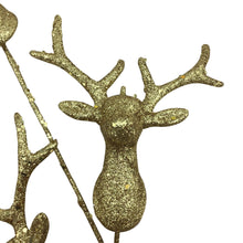 Reindeer Glitter Head Spray- Gold