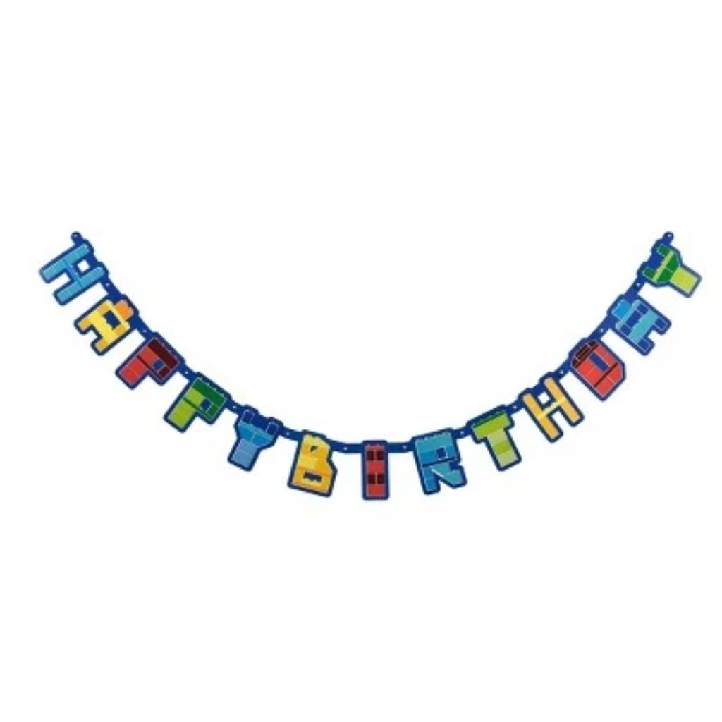 LEGO Happy Birthday Banner