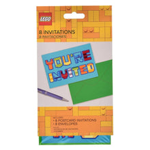 LEGO Happy Birthday Invitation Card