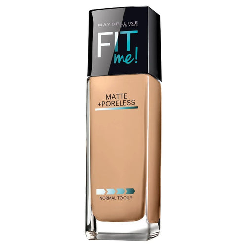 Maybelline FIT ME! Matte + Poreless Foundation - Shade 220 Natural Beige - 1.0 fl oz