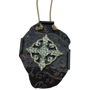 Metal Embossed Fragment Wall Decor - 2 Colors