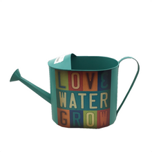 Metal Watering Can - 2 Different Colors