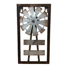 Metal Windmill Wall Sign