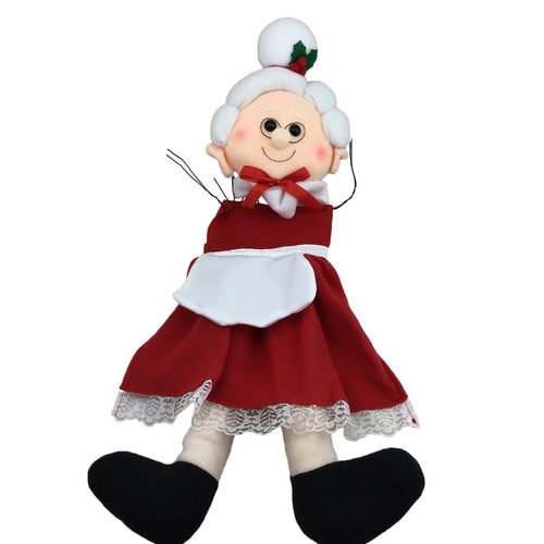 Mrs. Claus Wreath Kit - 2 Pieces