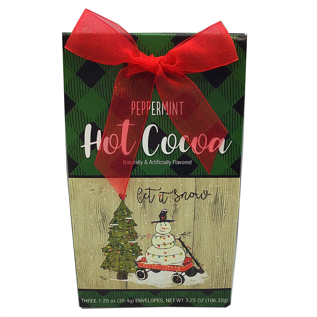 Peppermint Hot Cocoa - Snowman