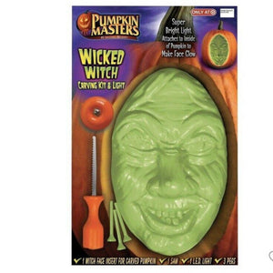 Pumpkin Masters Wicked Witch Pumpkin Carving Kit