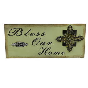 Resin Inspirational Decor Plaque - Two Styles