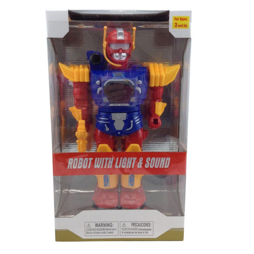 Robot With Light & Sound