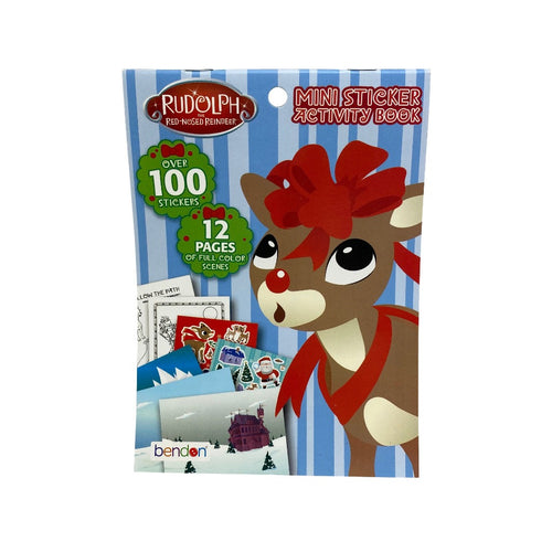 Rudolph Mini Sticker Activity Book