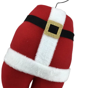 Santa Bottom Decor Piece