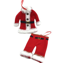 Santa Clothing Ornament - 2 Styles