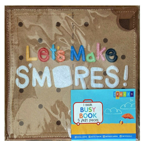 Let's Make Smores Felt Book