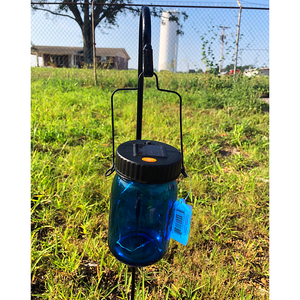 Solar Powered LED Mason Jar Garden Stake- 4 Colors