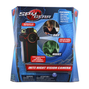 Spy Gear iNite Clip-on Secret Agent Night Vision Camera Detective Gadget