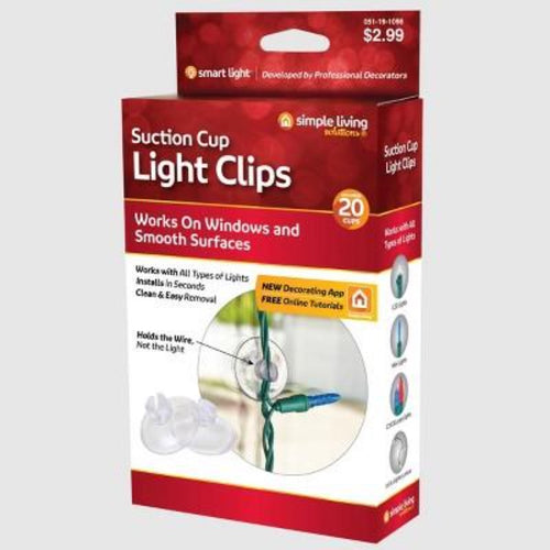 Suction Cup Light Clips