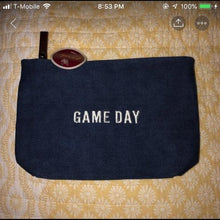 Tailgates & Touchdowns Small Canvas Pouch