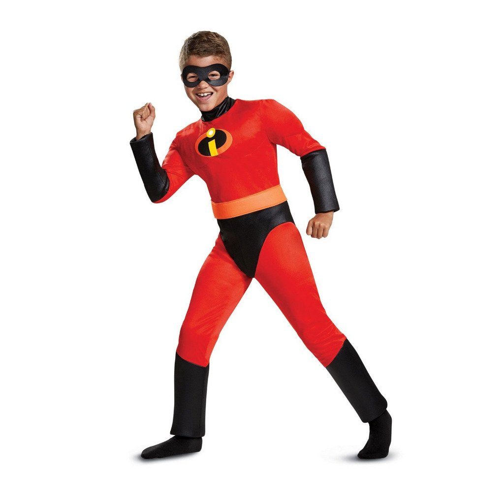 The Incredibles Dash Classic Muscle Child M (7/8) Halloween Costume