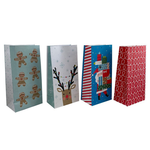 4 Assorted Treat Bags