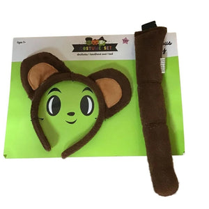 Two Piece Childrens' Costume Accessory Headband and Tail Set
