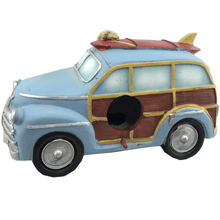Vehicle Resin Birdhouse With Hanger - 2 Styles