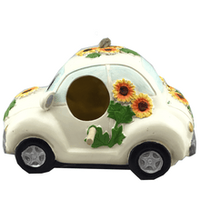 Vehicle Resin Birdhouse With Hanger - 3 Styles