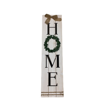 Wood Welcome/Home Wreath Wall 2 Assorted