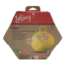 Whimsy Hopper Yellow Bouncy Ball