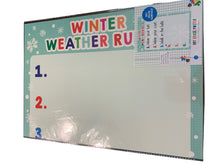 Dry Erase Poster Winter Weather Rules