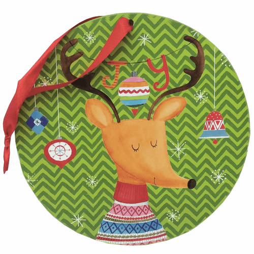Wooden Christmas Print Ornaments - 3 Styles