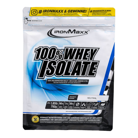 IronMaxx 100 % Whey Isolate
