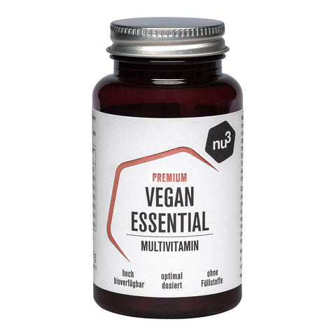 nu3 Premium Vegan Essential Multivitamin