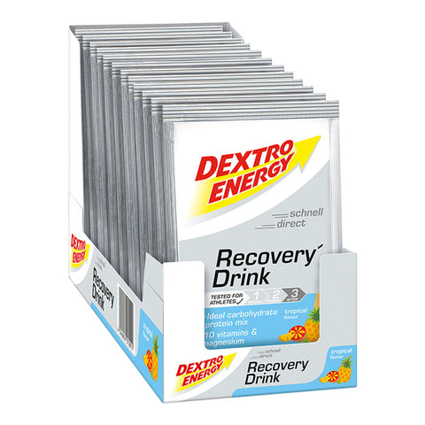 Dextro Energy Recovery Drink, Tropical, Pulver