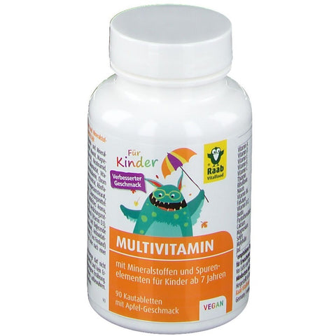 Raab Vitalfood Multivitamin für Kinder