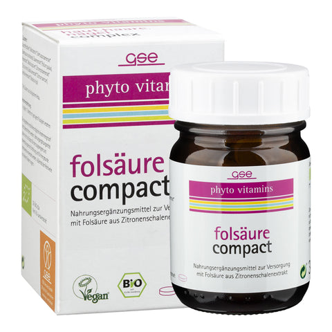 GSE phyto vitamins Folsäure Compact