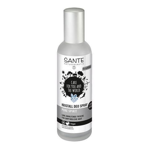 SANTE Kristall Deo Spray Pure Spirit extra sensitive