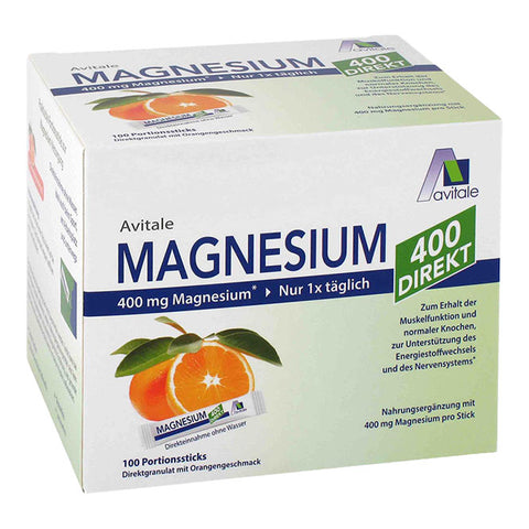 Avitale Magnesium 400 DIREKT, Orange