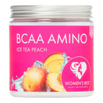 Women's Best BCAA Amino, Iced Tea Peach, Pulver