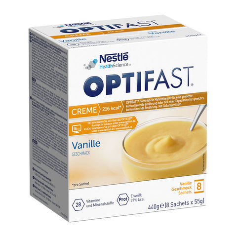 OPTIFAST home Creme, Vanille, Pulver