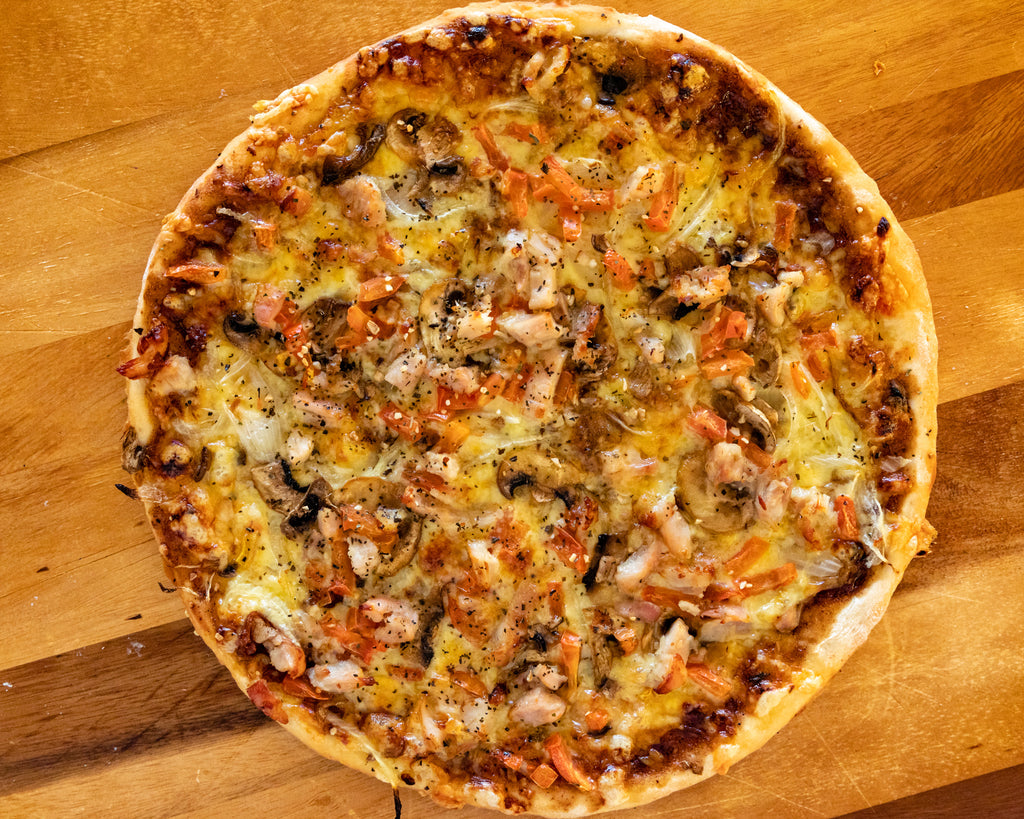 1. Chicken Pizza