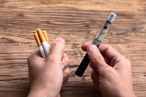 USING E-CIGARETTES / VAPES TO QUIT SMOKING